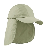 Image Mega-Juniper Taslon UV Cap with Detachable Flap