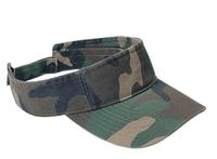 Image Mega-Pro Style Washed Camouflage Visor