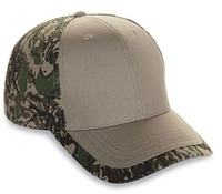 Image Cobra-6-Panel Cotton Twill Camo Cap