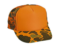Image Otto-Camouflage Poly Foam Front High Crown Golf Style Mesh Back