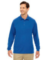 Image Ash City - Core 365 Men's Pinnacle Performance Long-Sleeve Piqué Polo