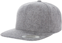 Image Yupoong-Melton Wool Adjustable Snap Back