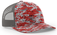 Image Richardson Trucker Digital Camo Pattern Twill Mesh