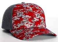 Image Richardson Trucker Digital Camo Pattern Twill Trucker  Mesh copy