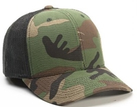 Image Richardson Trucker Camo Pattern Twill Trucker  Mesh copy copy