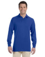 Image Jerzees 5.6 oz., 50/50 Long-Sleeve Jersey Polo