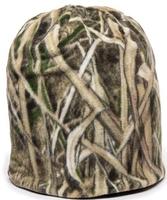 Image Outdoor Camo Reversible Fleece Beanie