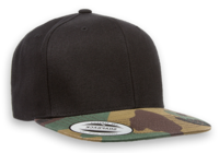 Image Yupoong Classic Snap Back with Camo Flat Bill