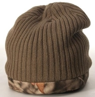 Image Reversible Knit W/Fleece Camo