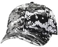 Image Sportsman-Budget Caps 6 Panel Digital Camo Bio Washed Twill