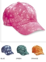Image Budget Caps | Cobra-6 Panel Assorted Pre-Pack Relaxed Tie Dyed Cotton copy