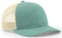 Image Richardson Low Profile Heather Trucker Cap copy