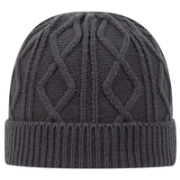 Image Otto Acrylic Knit Cable Knit Beanie