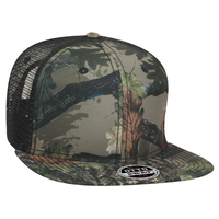 Image Otto-Camouflage Superior Polyester Twill Sq Flat Visor  6 Panel