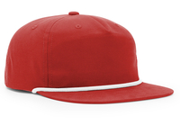 Image Richardson 5 Panel Nylon Grandpa Pinch Snapback