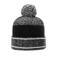 Image Richardson Heathered Pom Beanie W/ Cuff