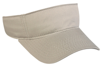 Image Outdoor Cotton Twill Hook Loop Tape Closure Visor