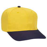Image Otto Cotton Blend Twill Six Panel Pro Style Baseball Cap