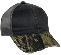 Image Outdoor Frayed Camo Mesh Back