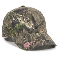Image Outdoor 6 Panel Ladies Fit Mossy Oak Logo On Visor
