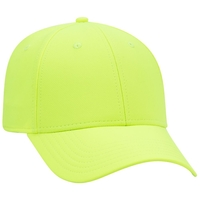 Image 6 Panel Low Profile Cool Comfort Performance Stretchable Knit Cap
