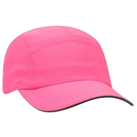 Image Otto 5  Panel Polyester Pongee Running Cap