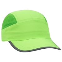 Image Otto 5  Panel Polyester Pongee Reflective Edge Running Cap