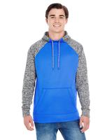 Image J America Adult Colorblock Cosmic Pullover Hood