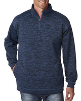 Image J America Adult Cosmic Poly Fleece Quarter-Zip