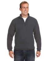 Image J America Adult Heavyweight Fleece Quarter-Zip