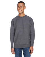 Image J America Adult Sport Weave Crew Neck Sweatshirt
