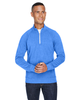 Image J America Adult Triblend Fleece Quarter-Zip