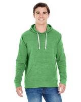 Image J America Adult Triblend Pullover Fleece Hood