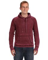 Image J America Adult Vintage Zen Fleece Pullover Hood