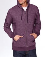 Image Next Level Adult Denim Fleece Full-Zip Hoody