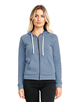 Image Next Level Ladies PCH Raglan Zip Hoody
