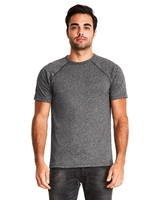 Image Next Level Mens Mock Twist Short-Sleeve Raglan T-Shirt