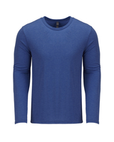 Image Next Level Mens Triblend Long-Sleeve Crew