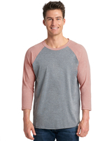 Image Next Level Unisex Triblend 3/4-Sleeve Raglan