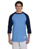 Image T1397 Champion Adult 5.2 oz. Raglan T-Shirt
