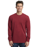 Image Next Level Unisex Sueded Long-Sleeve Crew