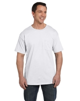 Image Hanes Adult 6.1 oz. Beefy-T with Pocket