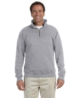 Image Jerzees Adult 9.5 oz. Super Sweats® NuBlend® Fleece Quarter-Zip Pullover