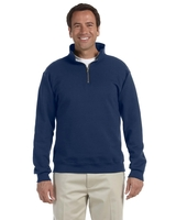 Image Jerzees Adult 9.5 oz. Super Sweats® Nu-Blend® Fleece Quarter-Zip Pullove