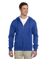 Image Jerzees Adult 8 oz. Nu-Blend® Fleece Full-Zip Hood