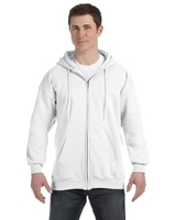 Image Hanes Adult 9.7 oz. Ultimate Cotton® 90/10 Full-Zip Hood