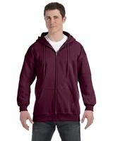 Image Hanes Adult 9.7 oz., Ultimate Cotton 90/10 Full/Zip Hood