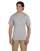 Image Gildan Adult 5.5 oz., 50/50 Pocket Tee Shirt