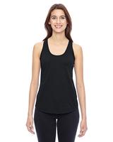 Image Alternative Ladies Shirttail Satin Jersey Tank