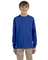 Image Jerzees Youth 5.6 Ounce DRI-POWER® ACTIVE Long-Sleeve T-Shirt